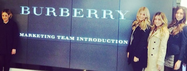 Burberry is one of New York.