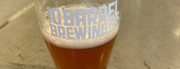 10barrel brewing is one of Orte, die Chip gefallen.