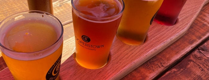 Cooperstown Brewing Company is one of Places.