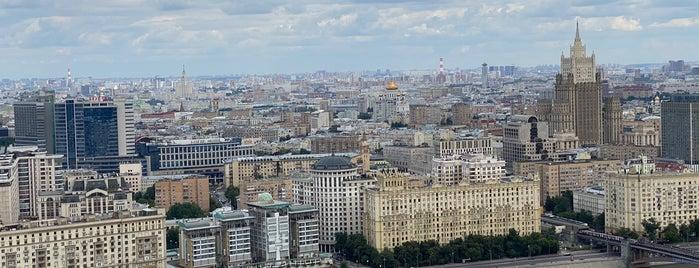 Смотровая площадка гостиницы «Украина» is one of Москва.