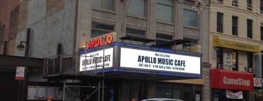Apollo Theater is one of Music Venues.