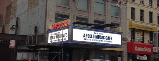 Apollo Theater is one of NY`ta görülecekler.