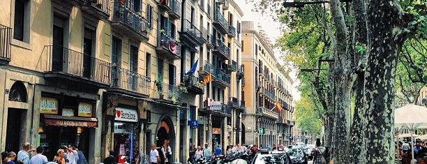 La Rambla is one of Viva Barcelona!.