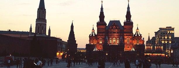 붉은 광장 is one of Парки / Погулять.