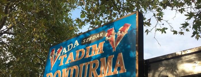 Tadım Dondurması is one of Özdemir'in Beğendiği Mekanlar.