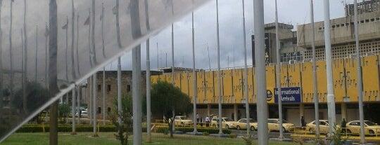 Jomo Kenyatta International Airport (NBO) is one of Airports of the World.