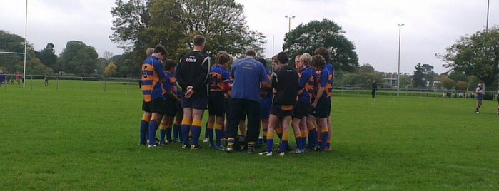 Gosport & Fareham RFC is one of Tempat yang Disukai Carl.
