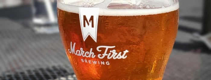 March First Brewing is one of Cincinnati Area Breweries.
