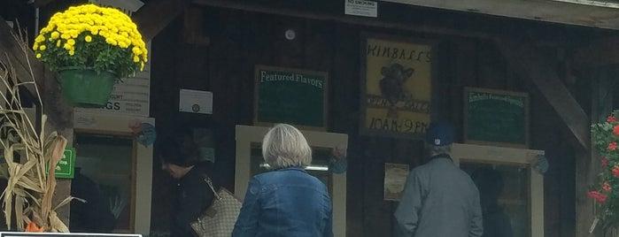 Kimball Farm Ice Cream Stand is one of Lugares guardados de Kapil.