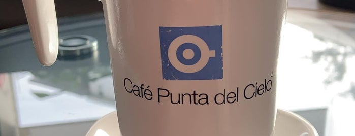 Café Punta del Cielo is one of Cristinaさんのお気に入りスポット.