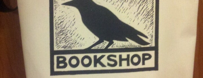 Crow Bookshop is one of Carmen'in Beğendiği Mekanlar.