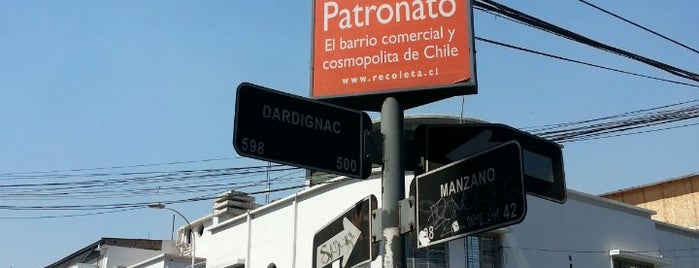 Barrio Patronato is one of Santiago de Chile.