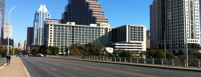 Ann W. Richards Congress Avenue Bridge is one of Austin, TX.