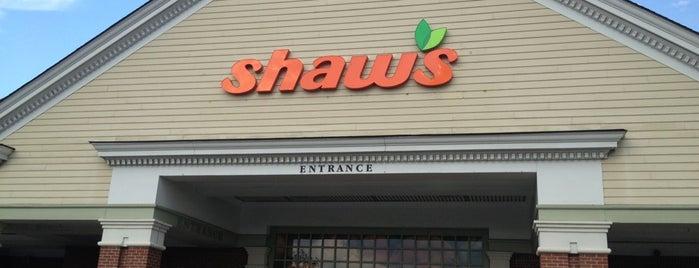 Shaw's is one of สถานที่ที่ Tyler ถูกใจ.