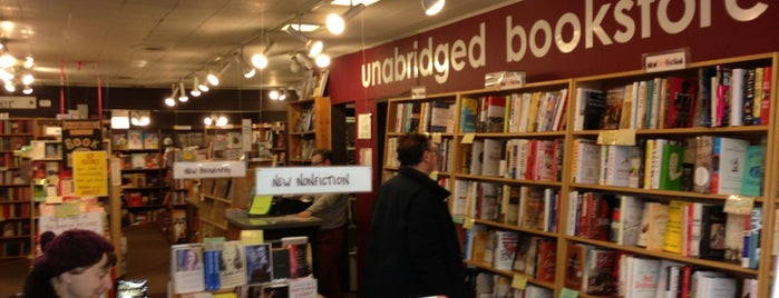 Unabridged Books is one of Places to check out in and around Chicago.