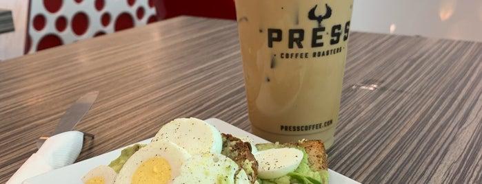 Press Coffee is one of Locais curtidos por Dallin.