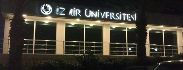 İzmir Üniversitesi is one of İzmir.