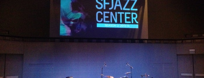SFJazz Center is one of San Francisco.