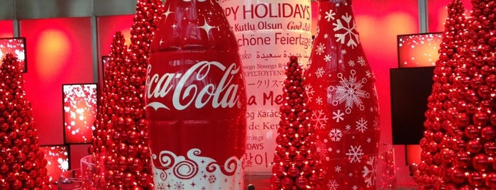 World of Coca-Cola is one of Atlanta bucket list.