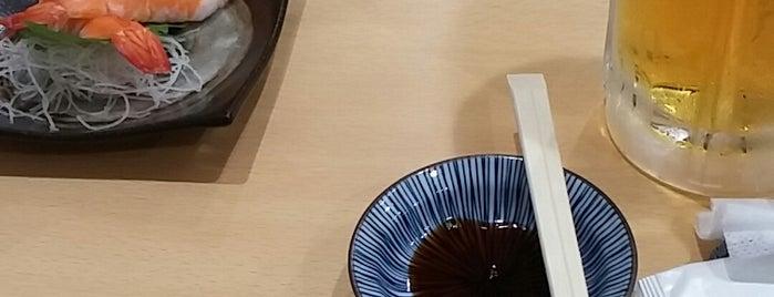 寿し食堂ときわ町屋 is one of Orte, die No gefallen.