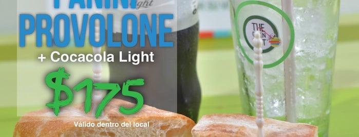 The Green Spot is one of Delicias nutritivas de Rep Dom.