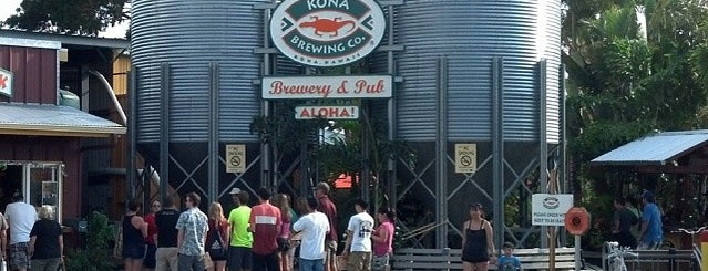 Kona Brewing Co. & Brewpub is one of Breweries in the USA I want to visit.