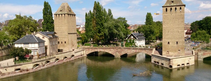 Barrage Vauban is one of strasbourg.