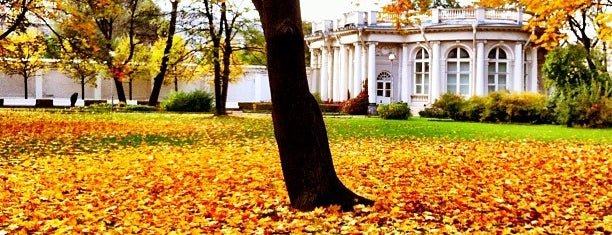 Garden of Anichkov Palace is one of Posti che sono piaciuti a Alexander.