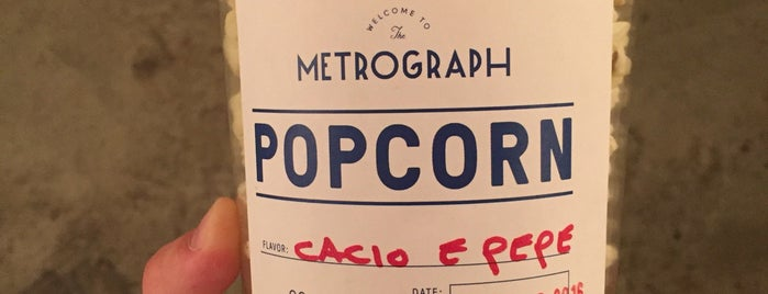 Metrograph is one of The Locals Only Guide to Eating & Drinking in NYC.