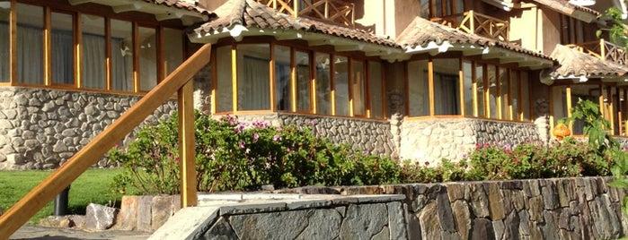 Casa Andina Premium Valle Sagrado Hotel & Villas is one of สถานที่ที่ Percy ถูกใจ.