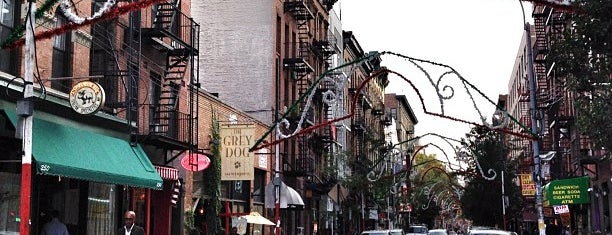 Mulberry Street is one of New York City.