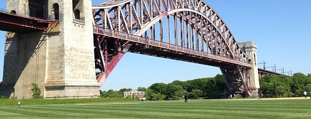 Hell Gate Bridge is one of New York.