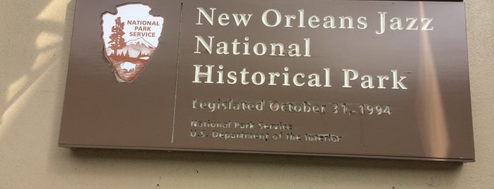 New Orleans Jazz National Historical Park is one of National Parks.