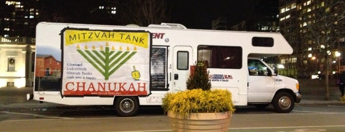 Mitzvah Tank is one of Mayorship....