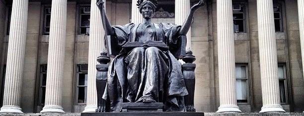 Alma Mater Statue is one of Nueva York.