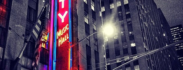 Radio City Music Hall is one of New York, NY.