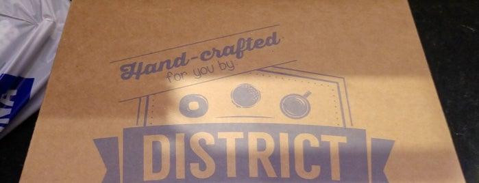 District: Donuts. Sliders. Brew. is one of Las Vegas.