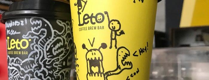 Leto Coffee Brew Bar   San Francisco is one of Panama.