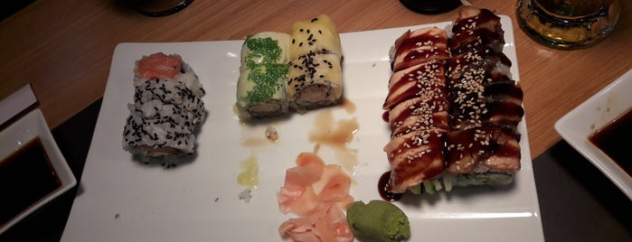 sushirolls is one of Visited.
