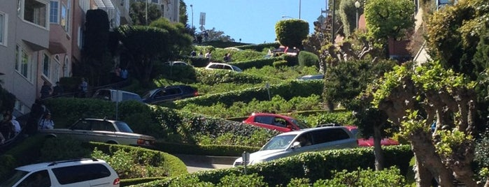 Lombard Street is one of Nick and Andreas SF ToDos.