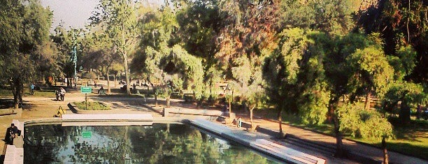 Parque Bustamante is one of Santiago de Chile.
