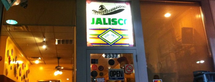 Jalisco Mexican Restaurant is one of Jezebel Magazine's 100 Best Restaurants 2012.