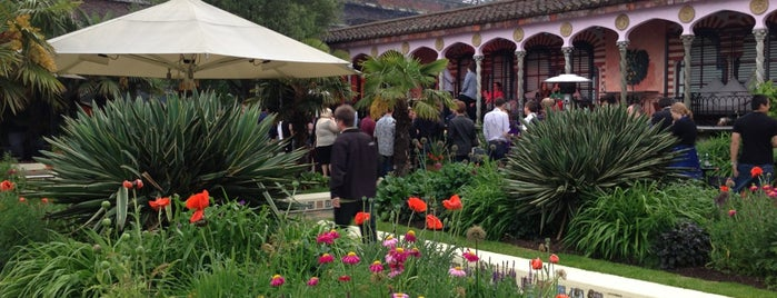Kensington Roof Gardens is one of London Cultural.