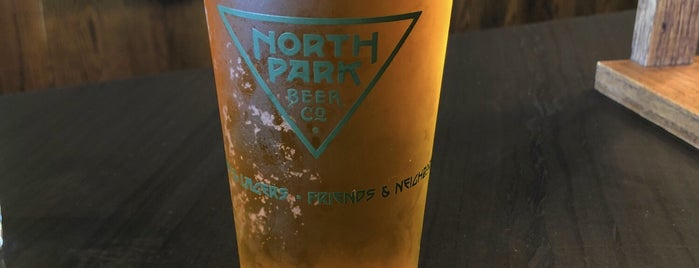 North Park Beer Company is one of SD Breweries.