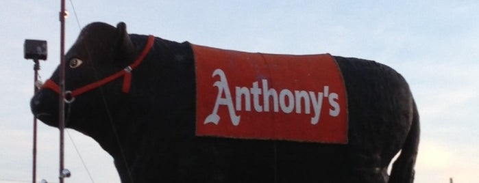 Anthony's Steakhouse is one of Posti salvati di Christopher.