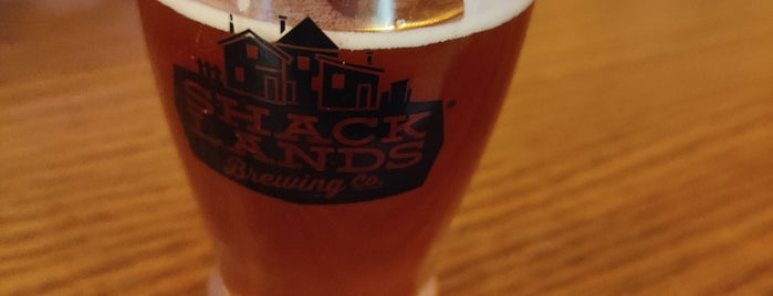 Shacklands Brewing is one of Toronto.