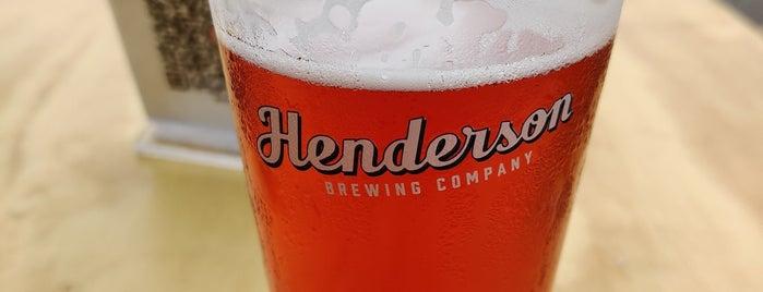 Henderson Brewing is one of Posti che sono piaciuti a Armando.
