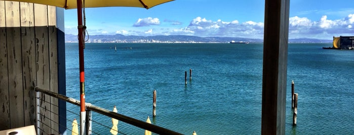 Mission Rock Resort is one of SF Happy Hour.