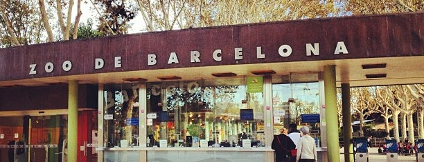 Zoo de Barcelona is one of Barcelona.