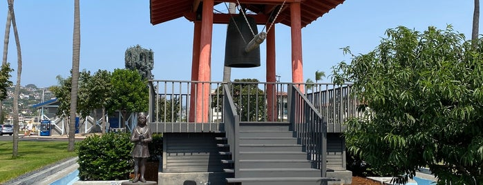 Friendship Bell at Shelter Island is one of Lisa's Saved Places.
